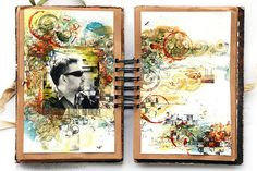 Full of beautiful pages:Always and forever by finnabair, via Flickr