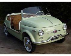 1959 Fiat 500 - this would be fun to tool around town cars cars sports cars vs lamborghini sport cars Luxury Sports Cars, Sport Cars, Fiat Sport, Sport Sport, My Dream Car, Dream Cars, Van 4x4, Cars Vintage, Retro Cars