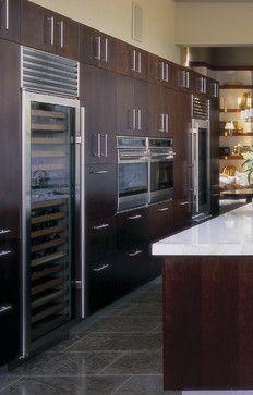 Sub-Zero Refrigerator and Freezer - modern - refrigerators and freezers - phoenix - Jamie Herzlinger Kitchen Reno, Kitchen Ideas, Kitchen Design, Kitchen Appliances, Wolf Stove, Modern Refrigerators, Sub Zero, Freezers, Restoration Services