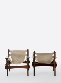 © Sergio Rodrigues. kilim armchairs for Oca 1973