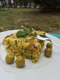 Tajine tunisien thon olives pommes de terre