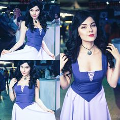 Vanessa from the Little Mermaid