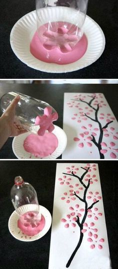 DIY decorating from repurposed items