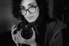 Lucia –   A portrait of Lucia Anna Mangini one ony students at the Roma School of Photography and Cinema  Lucia with my Leica M10 and the Leica Elmarit 21mm f2.8