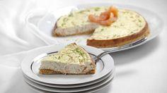 receta Cheesecake de salmón ahumado