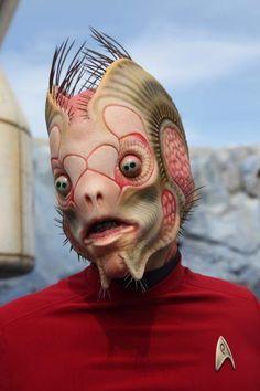 """Joel Harlow's amazing species designs for """"Star Trek Beyond"""" #joelharlow #startrek #startrekbeyond #scifi #captainkirk #specialeffects #characterdesign #makeupeffects #makeupmaster"""