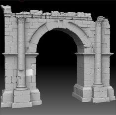 Djemila: Roman Ruins Study