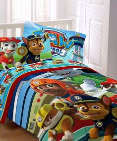 Look at this PAW Patrol Puppy Hero Comforter on #zulily today!