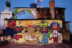 Street Art in Morro da Providência, Rio