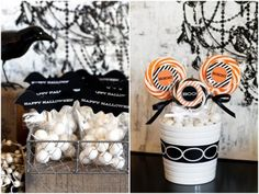 The TomKat Studio: 21 Halloween Party Favor Ideas on HGTV :: The TomKat Studio