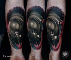 Roman Soldier in Helmet Tattoo by A.D. Pancho Rock N Roll Tattoo & Piercing Katowice Poland http://tattoopics.org/roman-soldier-in-helmet-tattoo-by-a-d-pancho/ #tattoo #roman #soldier #romansoldiertattoo #ink #pics #ancient #Rome #Centurion #Legionaire #Spartacus