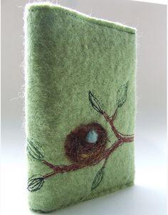 Kraft Kolour Pty Ltd.  Needle felted diary