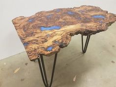 How to make an Epoxy Coffee Table - YouTube