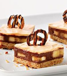 Chocolate Peanut Butter Pretzel Crumb Bars