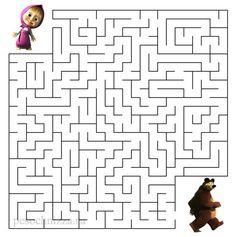 Homeschool Worksheets, Kindergarten Math Worksheets, Worksheets For Kids, Mazes For Kids Printable, Puzzles For Kids, Indoor Games For Kids, Educational Games For Kids, Free Preschool, Preschool Activities