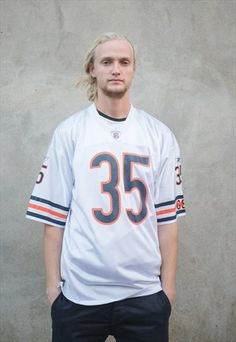 Chicago+Bears+NFL+American+Football+Jersey
