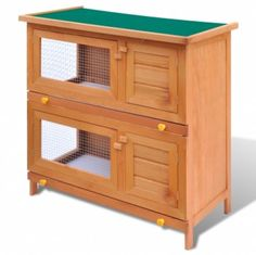 Outdoor Rabbit Hutch Small Animal House Pet Cage 4 Doors Wood  Take  this Cheap Gift. At Luxury Home Brands WE always Find Great Stuff for you :)