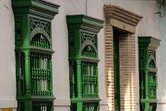 Santa Fe de Antioquia, Colombia Wassily Kandinsky, My Favorite Color, Big Ben, Colonial, Beautiful Places, Windows, Doors, Walkways, Country