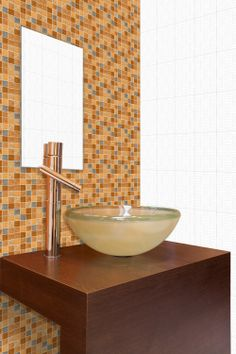 Exotica Multi - Tiles For Bathroom http://www.orientbell.com/bathroom-tiles.php