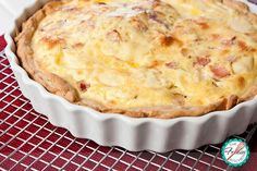 Our second Julia Child recipe, this Quiche Lorraine is the perfect dish to serve for brunch as you can prepare it ahead and with different variations!