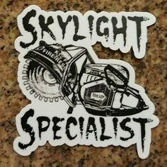 """CHECK IT OUT  New """"Skylight Specialist """" decal http://ift.tt/2aftxS9  http://ift.tt/2aftxS9 . . . . . . . .  #firetruck #firedepartment #fireman #firefighters #ems #kcco  #brotherhood #firefighting #paramedic #firehouse #rescue #firedept  #iaff  #feuerwehr #crossfit #chiveeverywhere #brandweer #pompier #medic #motivation  #ambulance #emergency #bomberos #Feuerwehrmann  #firefighters #firefighter #chiver #fire"""
