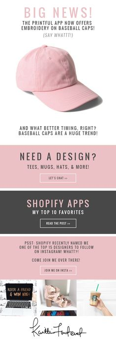 Email Newsletter Design for Boutiques & Bloggers | LK Design Studio for (Shopify, WooCommerce, Wordpress, Squarespace, Mailchimp, Constant Contact, SnapRetail, Wix, BigCommerce)