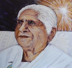 Dadi Janki: Woman of Leadership  This is a woman who describes God as a Point of Light  god    dadi janki    point of light    illustration    painting