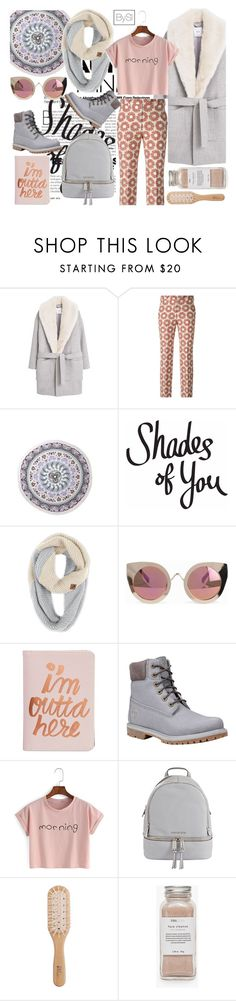 """Pants"" by ivanova-sonya on Polyvore featuring мода, MANGO, Maison Margiela, The North Face, Quay, ban.do, Timberland, MICHAEL Michael Kors, Philip Kingsley и Très Pure"