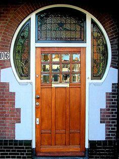 Jugenstill Door, Statatenlaan Den Haag, The Hague - The Netherlands