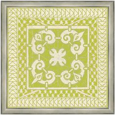 Apple Tile IV Framed Print $137.95. Something like this would be perfect for my kitchen/family room area.