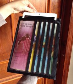 jw tabletipad magazine holder jw by pearlandjean this ministry organizer is great - Field Service Organizer