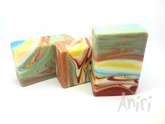 Landscape by Aniri - Cold Process Soap - Spin Swirl - #soApbyAniri