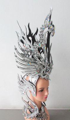 Da NeeNa H128 Vegas cristallo Royal Swan Phoenix Garuda