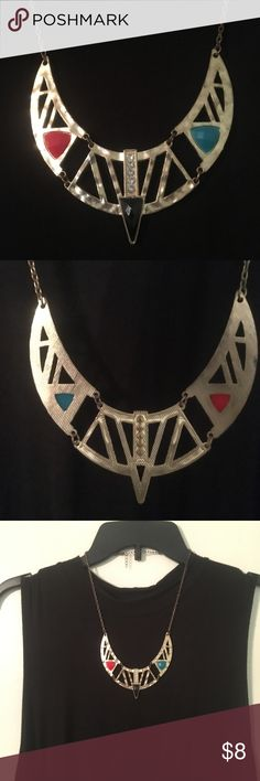 AZTEC PRINCESS NECKLACE Fun geometric necklace! Spice up any top or dress with this lovely piece. Bundle with other items to save. Jewelry Necklaces