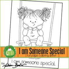 I am Someone Special Printable Coloring Page