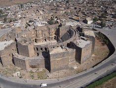 Amphitheatre - #Busra-Syria