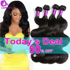 Hair Weaving Brazilian Body Wave 4 Bundles 8A Mink Brazilian Virgin Hair Body Wave Brazilian Hair Weave Bundles Natural Human Hair Extensions * Details on product can be viewed by clicking the VISIT button