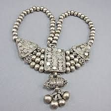 Image result for silver ethnic jewellery