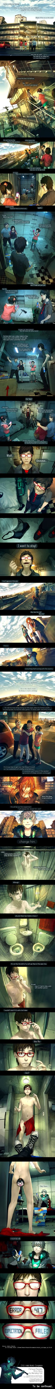 Fisheye placebo : Ch.0 Hello world part 8 (end Ch0) by Wenqing Yan Fisheye placebo by yuumei on deviantART