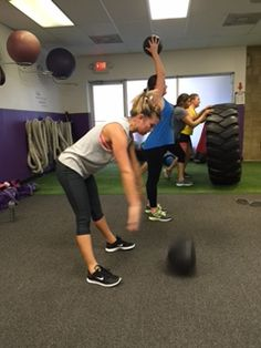 Ball slams and tire flips, ya, we got that!  www.gravitytrainingzone.com  #beastmode #arms #bootcamp #bootie #cardio #core #diets #exercise #eattolose #fatloss #freehold #gymrat #healthylife #inittowinit #jacked #killinit #morganville #nodaysoff #noexcuses #organic #oldbridge #personaltrainer #painpainpain #summerslam #weightloss
