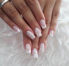 How to choose your fake nails? - My Nails French Nail Art, French Nail Designs, Nail Art Designs, Cute Nails, Pretty Nails, Hair And Nails, My Nails, Nagellack Design, Bridal Nail Art