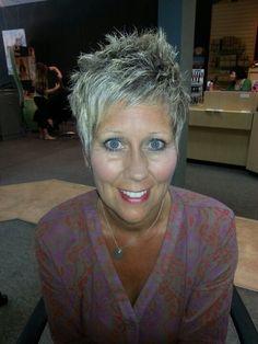 Blonde Pixie Haircut   Blonde pixie cut