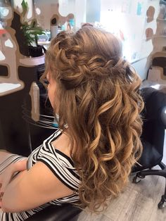 Cute Hairstyles For School, Quick Hairstyles, Down Hairstyles, Braided Hairstyles, Hair Styles 2016, Long Hair Styles, Hair Upstyles, Wedding Hairstyles Tutorial, Bridal Hair Updo
