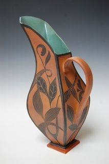 Abstract slab pitcher
