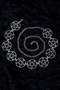 Black Moon Lilith Wiccan Bellybelt