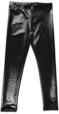 aa8fc2b43ec6c 7th Element Plus Size Faux Leather Leggings Lightweight High Waisted ...