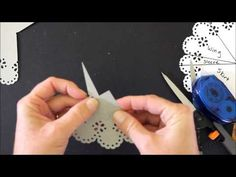 Paper Angels using Martha Stewart Crafts Circle Punch