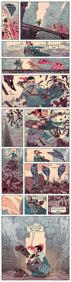 NECROPOLIS III by JakeWyatt http://jakewyatt.deviantart.com/art/NECROPOLIS-III-378977477