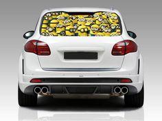 Minion Crowd Car Window Graphic Decal Sticker Truck SUV Van Despicable Me 048