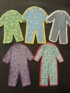 We used this flannel in a Pyjama Storytime along with a great song called Pyjama Party. This storytime activity uses repetition, number sequencing, and is just a blast to sing! A big thank you to our co-worker Miranda Mallinson for sharing the flannel and song with us. These flannel pieces were easy to make. All …